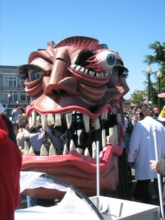 Kinetic Sculpture Race in Arcata CA
