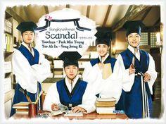 Sungkyunkwan Scandal! Song joong ki. Park Yoo Chun.