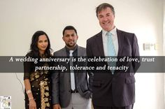 A wedding anniversary is the celebration of love trust partnership tolerance and tenacity.  #marriagecelebrant #weddingcelebrant #civilcelebrant #celebrant #adelaidecelebrant