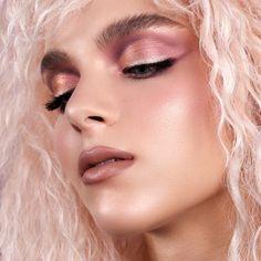 Natasha Denona Love Cheek Duo Cream Blush & Highlighter | Beautylish Glow Palette, Cat Eye Makeup, Cream Blush, Blush Brush, Pink Champagne, Makeup Inspiration, Makeup Ideas, Get The Look, Mini