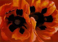 Poppies - Georgia Okeefe