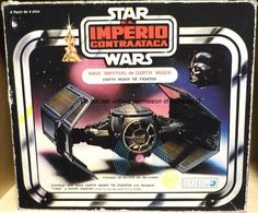 Spanish Poch Darth Vader Tie Fighter (Nave Imperiale de Darth Vader)