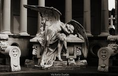 Cementerio de Montjuïc (Barcelona) by Victoria Durán | Photography, via Flickr