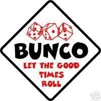 Love me some BUNCO!!