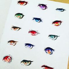 Ehhh last night I was messing with some anime eyes #eyes #anime #manga #drawingtutorial