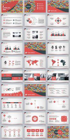 30+ business data PowerPoint templates