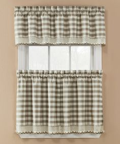 belle maison Linen Windsor Valance | Ps, Valances and Windsor