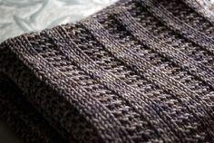 Ravelry: Garter Rib Baby Blanket pattern by Orange Flower