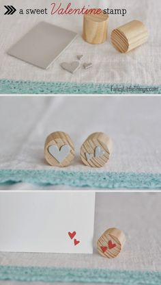 DIY: Heart Stamp! | Art And Chic