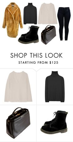"""The mind is everything. What you think you become."" by mymind-is-a-warrior ❤ liked on Polyvore featuring Helmut Lang, Jil Sander, Fendi, Paisie, Dr. Martens and Armani Jeans"