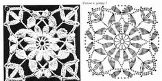 Irish lace, crochet, crochet patterns, clothing and decorations for the house, crocheted. Crochet Diagram, Crochet Motif, Irish Crochet, Crochet Doilies, Crochet Flowers, Crochet Lace, Crochet Stitches, Modern Crochet Patterns, Crochet Blanket Patterns