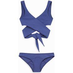 Marie-Louise Bikini ❤ liked on Polyvore featuring swimwear, bikinis, bikini swimwear, bikini beachwear, bikini swim wear and bikini two piece