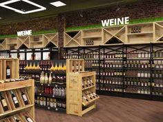 Weingeschäft Lokal, Wine Rack, Storage, Furniture, Home Decor, Custom Paint, Masonry Construction, Retail Counter, Home Goods
