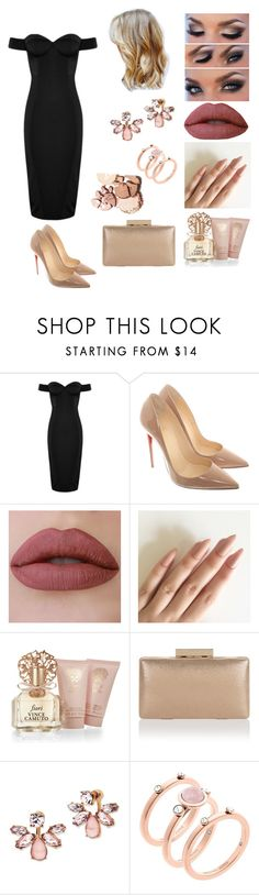 """""""Senza titolo #1564"""" by merypr ❤ liked on Polyvore featuring Christian Louboutin, Vince Camuto, Monsoon, Marchesa and Michael Kors"""