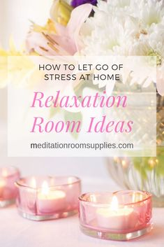 Relaxation Room Ideas — How to Let Go of Stress at Home – Meditation Room Supplies Meditation Corner, Meditation Room Decor, Relaxation Room, Meditation Space, Yoga Meditation, Relaxing Room, Zen Room Decor, Stress Relaxation, Site Web