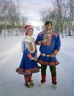 The People Who Walk With Reindeer - English Russia ~ The Sami people are the Arctic indigenous people inhabiting Sápmi, which today encompasses parts of far northern Sweden, Norway, Finland, the Kola Peninsula of Russia, and the border area between south and middle Sweden and Norway.
