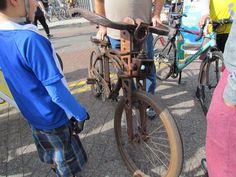 wooden bike drawing interest