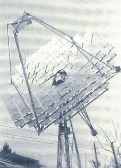 A Tracking Solar Concentrator for the home experimenter