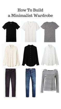 Capsule Wardrobe Essentials, Capsule Wardrobe Casual, 10 Item Wardrobe, French Capsule Wardrobe, Minimal Wardrobe, Capsule Outfits, Classic Wardrobe, Fashion Capsule, French Wardrobe Basics