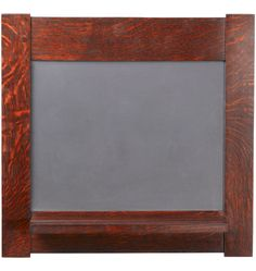 Dard Hunter Oak-Framed Chalkboard     Made from reclaimed oak and slate from an old schoolhouse - this is so wonderful!!!!