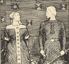 "'Don't underestimate Viking women' article on Science Nordic. ""To assume that Viking men were ranked above women is to impose modern values on the past, which would be misleading,"" Anne Neville, Anne Boleyn, Olaf, Medieval, Viking Men, Viking Culture, Viking Dress, Old Norse, 16th Century"