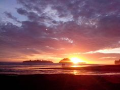 Sunset - Air Manis Beach - West Sumatra, Indonesia