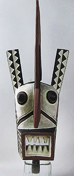 African Masks - Bwa Kobiay mask, Burkina Fasso, Africa