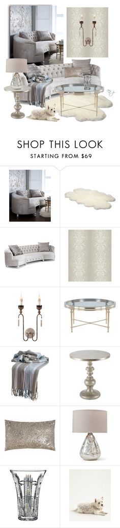 """Haute House"" by jacque-reid ❤ liked on Polyvore featuring interior, interiors, interior design, home, home decor, interior decorating, Haute House, UGG Australia, York Wallcoverings and WALL"