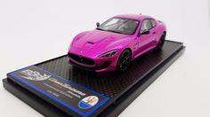 Model: Maserati Granturismo MC Stradale Flash Pink. Model Number: BBRC109FP. Scale: 1/18. | eBay!