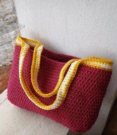 Replicated Tote Bag Free Crochet Pattern