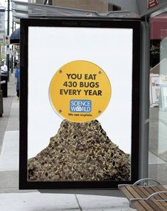 25+ Ambient Marketing Examples Shows That Science Can Be Fun