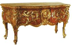 Baroque vs Rococo | Charles Cressent , commode, made c 1730 shortly before the ...