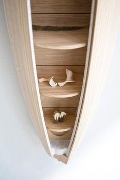 Jeremy Zietz Designs A Cabinet That Doubles As A Sculptural Piece Of Wall Art