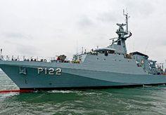 OPV ARAGUARI.The ARAGUARI is the third and final UK-built Amazonas class offshore patrol vessel for the Brazilian Navy.