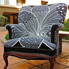 Chair Repair and Reupholstering DIY