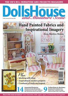 January 15 Dolls House and Miniature Scene front cover. http://www.dollshouseandminiaturescene.co.uk