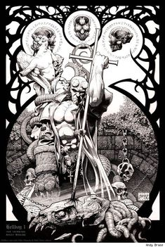 Hellboy. Artist?
