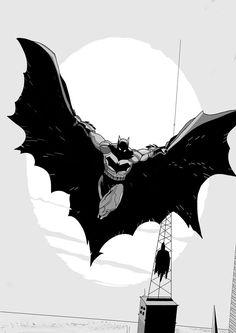 Batman Night Flight - Andrea Bocci