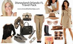 Travel pack Downtown Disney - Travel and Fashion Tips by Anna P.