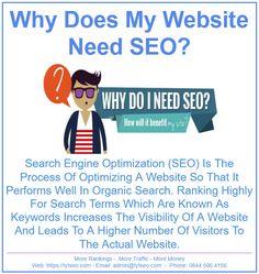 I Site, Search Engine Optimization