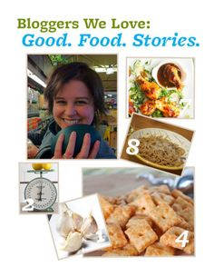 Blogger We Love: @Casey   Good. Food. Stories. Read her answers to our BHGfood questions here: http://bhgfood.tumblr.com/post/24406384223/blogger-we-love-casey-barber-of-good-food