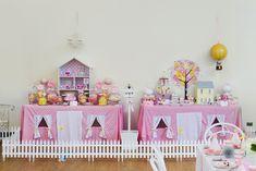 Festa Infantil Tema Casa de bonecas