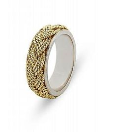 wedding and engagement rings. knitted wire by MaritzaDesingShop, $130.00