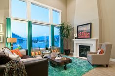 Teal color shades we can feel how colour affects our - How can we decorate our living room ...