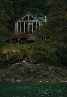 Custom Timber Frame Home, Seldovia Bay, Alaska