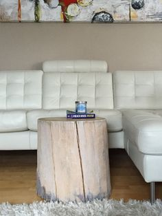 White Stump Tables, Root Coffee Tables, Root Tables, Log Furniture, LARGE  Wood Part 81