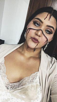 Zendaya's Halloween makeup