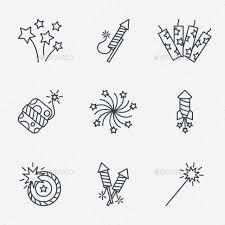Image result for firework doodles