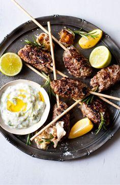 Cumin-Spiced Lamb Koftas
