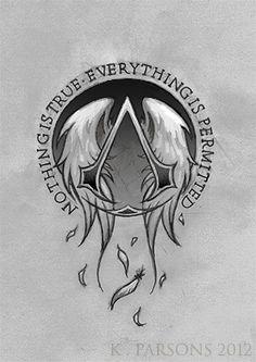 Assassins Creed Logo Tattoo Commission By Kerae On DeviantART